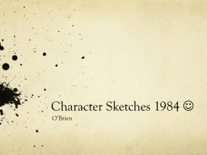 Character Sketches 1984