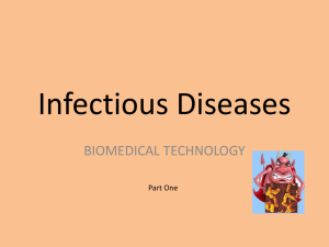 Infectious Diseases Power Point