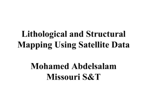 Lithological and Structural Mapping Using Satellite