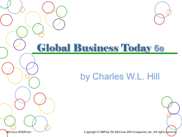 Chapter 16 Global Human Resource Management
