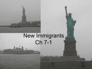 New Immigrants Ch 7-2