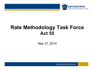 Act 55 RMTF PowerPoint Presentation, dated 5/27/2014