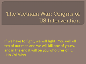 The Vietnam War US Intervention Origins