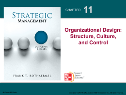 Strategic Management 1e