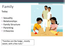 Family - 2015 Intro to Sociology