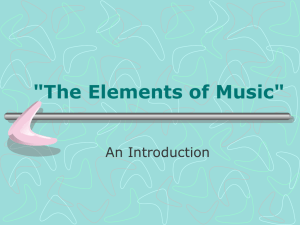 The Elements of Music Teacher Version