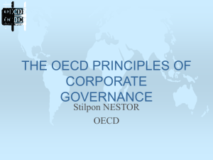 why is corporate governance important for policy