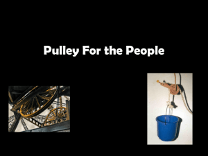 Pulley For the People