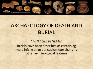 death & burial