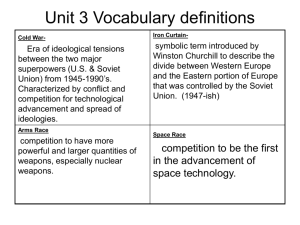 Unit 3 Vocabulary terms