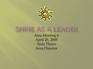 Shine as a Leader - Zonta District 11