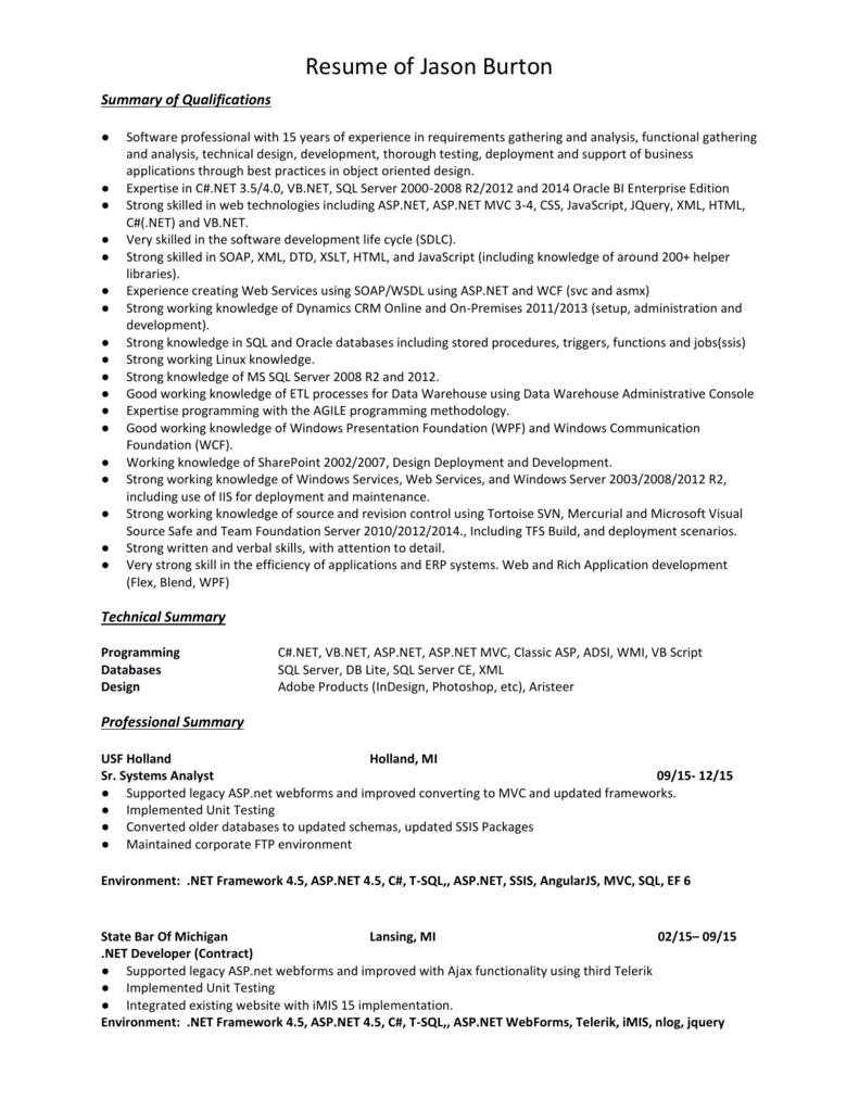 See My Resume