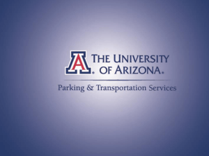UA Parking and Transportation Services