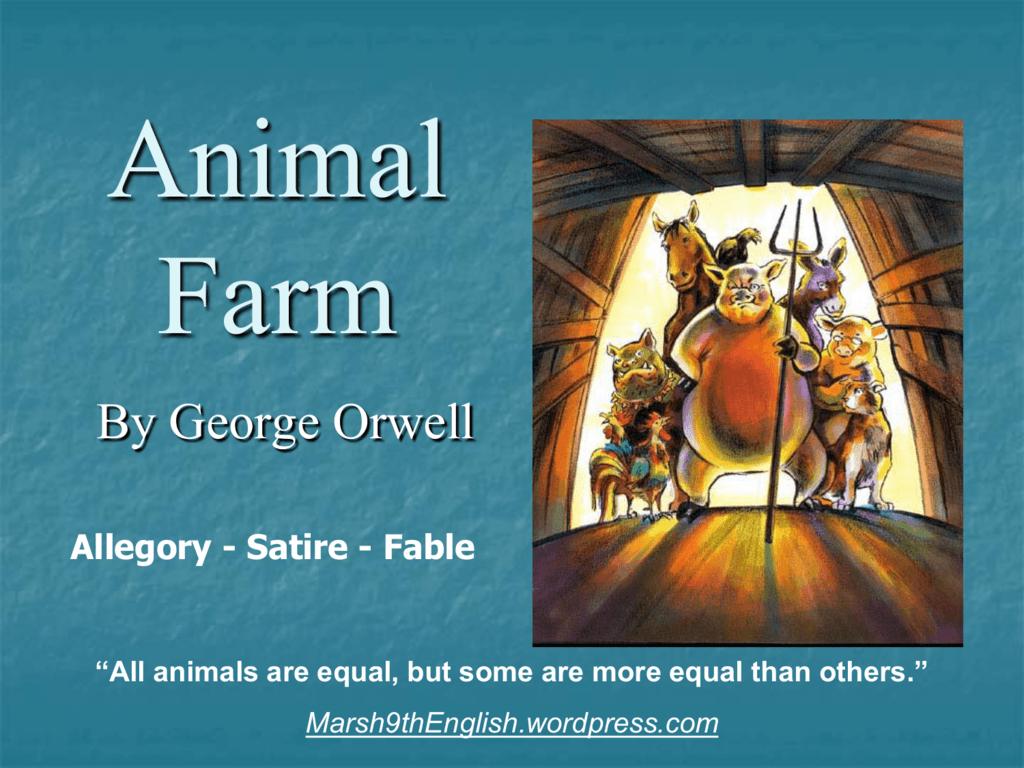 Animal Farm Wordpress Com
