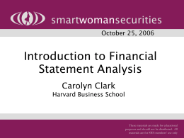 introduction to financial statement This lesson serves as an introduction to financial statements and financial statement concepts some of the concepts covered are the accounting equation, double entry accounting, and debits and credits.