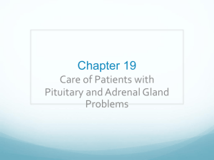 Pituitary and Adrenal Gland Dysfunction