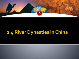 2.4 river dynasties in china