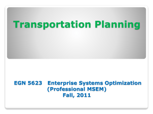 10. Transportation Planning in SCm