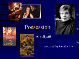 Class Powerpoint for Possession