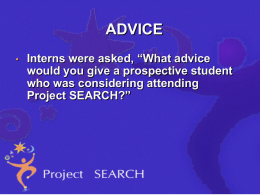 Student Advice Presentation 2015 2016 Link