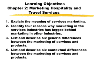 Marketing Hospitality and Travel Services - Delmar