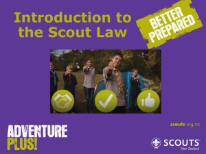 Introduction to the Scout Law