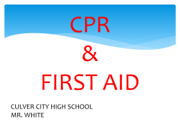 cpr class - Culver City High School