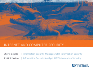 UF Information Security Training