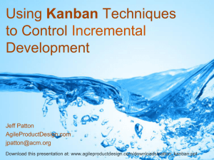 My simple Powerpoint presentation on Kanban
