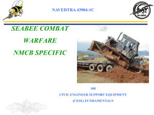 PPT: NMCB 108 CESE
