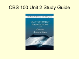 CBS 100 Unit 2 Exam Review
