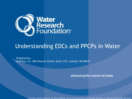 View the Presentation - Water Research Foundation