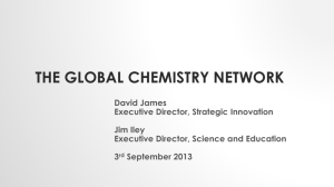 The Global Chemistry Network