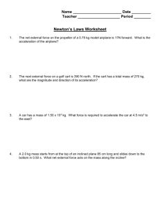 Newtons Laws.doc