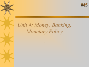 Money and Banking System 13.1