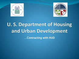 HUD – CDC Small Business Presentation 05032013
