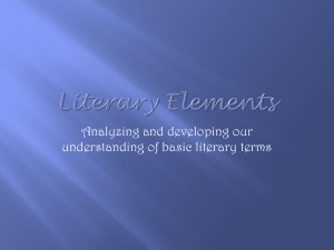 Literary Elements - techinedu