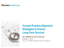 Current Practice Alignment Strategies to Ensure Long Term