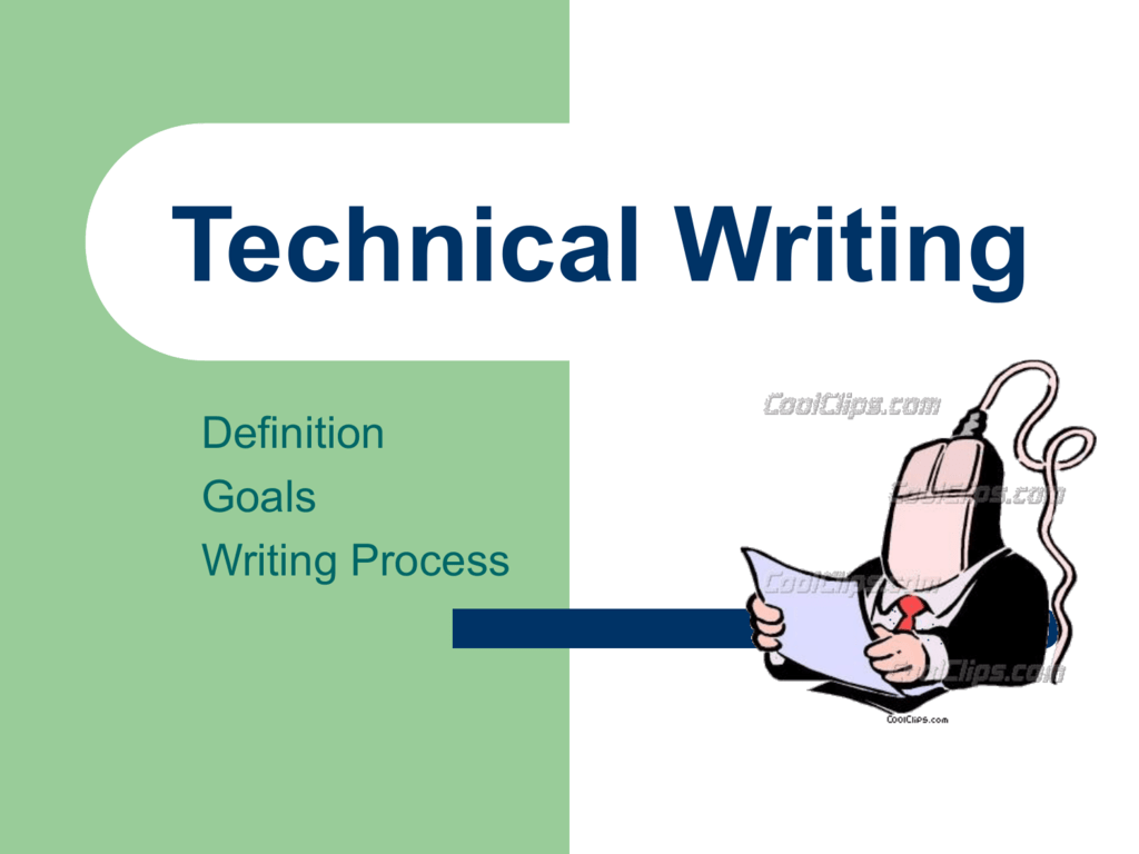 goals of effective technical writing