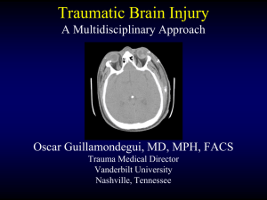 Traumatic Brain Injury A Comprehensive Review