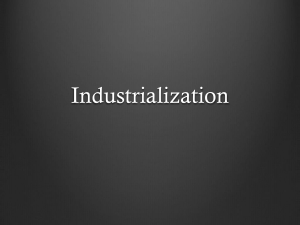 Industrialization - Archmere Academy