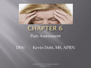 Comfort and Pain Assessment