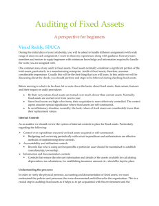 4. Accounting for Fixed Assets (AS 10).