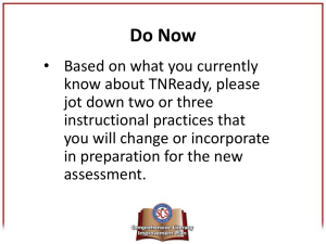 TNReady DLD revised