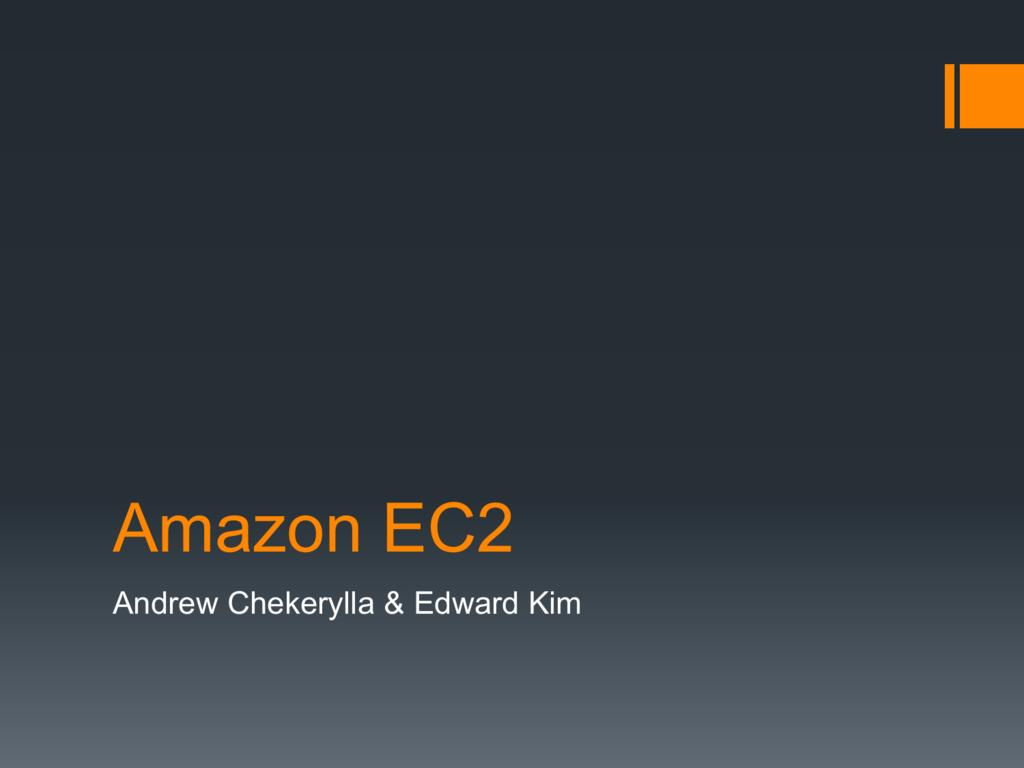 Amazon EC2 - UW Courses Web Server