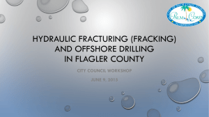 Item 2-Hydraulic Fracturing Offshore Drilling