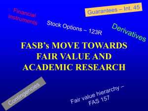 fair value - Zicklin School of Business