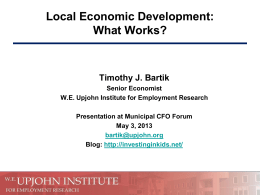 Export-base economic development