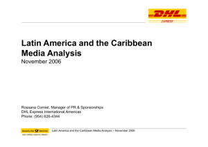 Latin America and the Caribbean Media Analysis