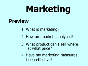 Marketing ()